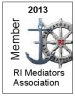 2013 RI Mediators Assn. Member Badge